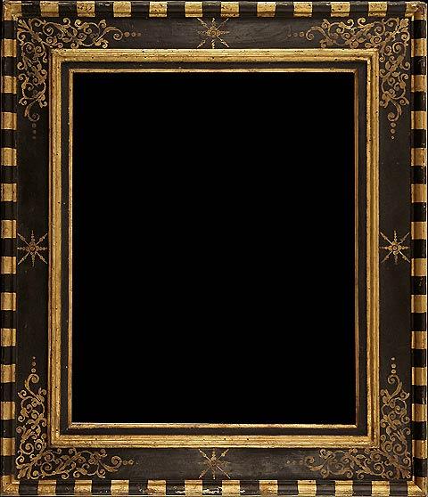 Cornici dipinte laboratorio federici dal 1905 for Cornici nere per foto